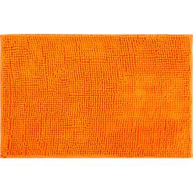 Коврик для ванной комнаты Merci 45х70 см цвет оранжевый