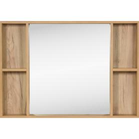 Зеркало «Лофт» с полкой 100x70 см
