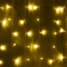 Электрогирлянда комнатная «Занавес» 3x2 м 240 LED тёплыйжёлтый