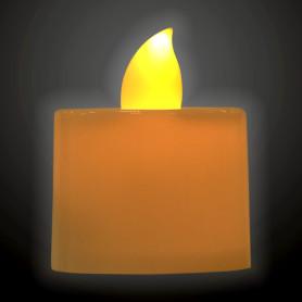 Свеча светодиодная 3.5 см, цвет белый