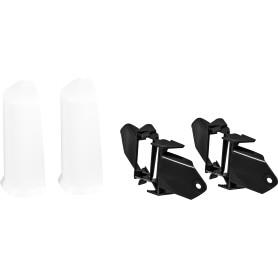 Угол для плинтуса внешний «Белый» 80 мм, 2 шт.