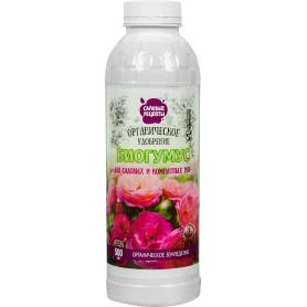 Удобрение биогумус Садовые рецепты для роз 0.5 л