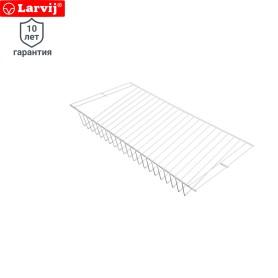 Полка сетчатая Larvij 603x306 мм цвет белый