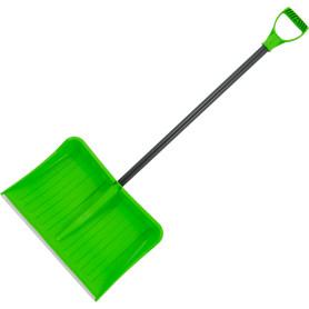 Лопата для уборки снега 53x36 см пластик