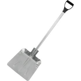 Лопата для уборки снега 47.5x38 см алюминиевый черенок