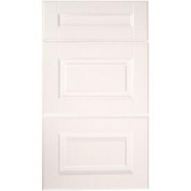 Дверь для шкафа Delinia «Леда белая» 40x27 см, МДФ, цвет белый, 3 шт.
