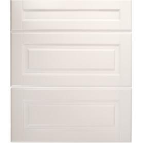 Дверь для шкафа Delinia «Леда белая» 80x27 см, МДФ, цвет белый, 3 шт.