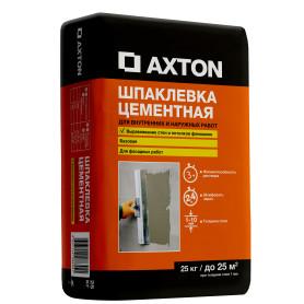 Шпаклевка цементная Axton базовая, 25 кг