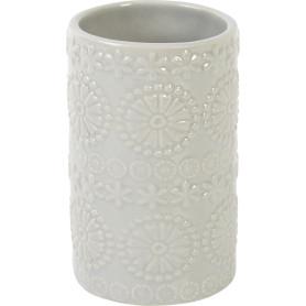 Стакан для зубныx щеток Arta керамика светло-серый