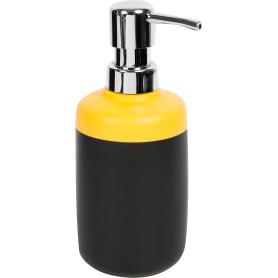 Дозатор для жидкого мыла Keila цвет чёрный/жёлтый