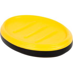 Мыльница Keila керамика цвет чёрный/жёлтый