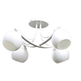 Люстра потолочная «Иветта» 536, 4 лампы, 23 м², цвет белый