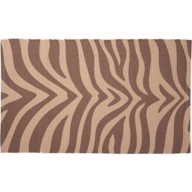 Коврик для ванной комнаты Animal 50х80 см бежевый/коричневый