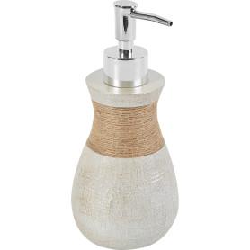 Дозатор для жидкого мыла настольный Villagio пластик, цвет бежевый