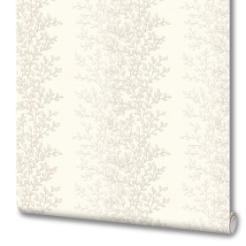 Обои флизелиновые Euro Decor Thea белые 1.06 м 7013-00