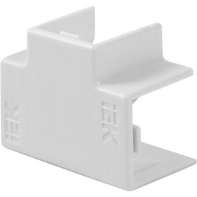 Угол Т-образный IEK КМТ 12/12 мм цвет белый 4 шт.