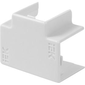 Угол Т-образный IEK КМТ 16/16 мм цвет белый 4 шт.