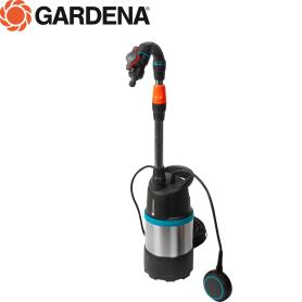 Насос садовый для полива из бочки Gardena 3inox, 4700 л/час