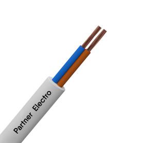 Провод Партнер-Электро ПВС 2x0.75, 100 м, ГОСТ