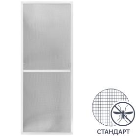 Москитная сетка белая 134x53 см к окну ПВХ 144x116/175 см