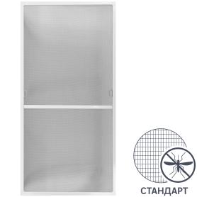 Москитная сетка белая 134x67 см к окну ПВХ 144x145 см