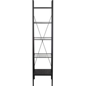 Стеллаж Ferro 40x35x170 см цвет чёрный муар