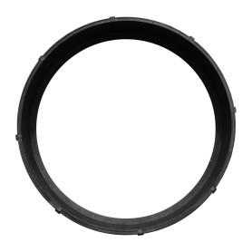 Полимерпесчаное кольцо колодца Ø750x200 мм цвет чёрный