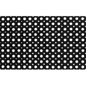 Коврик Flavio 40x60 см, резина, цвет чёрный