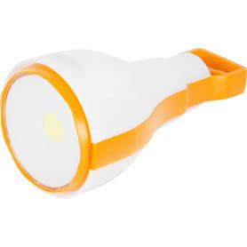 Фонарь кемпинговый LED 2-в-1 с крюком и магнитом