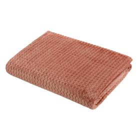 Плед «Велсофт», 150x200 см, полиэстер, цвет брусничный