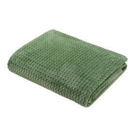Плед «Велсофт», 150x200 см, полиэстер, цвет зелёный