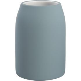 Стакан для зубных щёток «Unna» керамика цвет светло-голубой