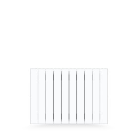 Радиатор Rifar Supremo S500-10, 10 секций, боковое подключение, биметалл