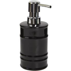 Дозатор для жидкого мыла Oil цвет чёрный