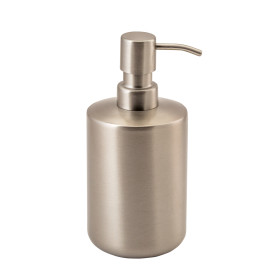 Дозатор для жидкого мыла Kropp цвет матовая сталь