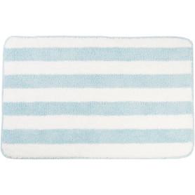 Коврик для ванной комнаты Passo 45x70 см цвет голубой/белый