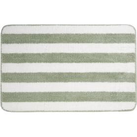 Коврик для ванной комнаты Passo 45x70 см цвет светло-зелёный/белый
