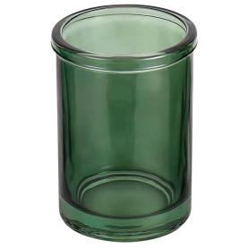 Стакан для зубных щёток Herr Peter стекло цвет зелёный