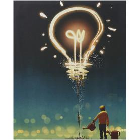 Картина на холсте «Мысли» 40х50 см