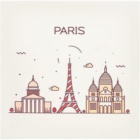 Картина на холсте «Париж» 30x30 см