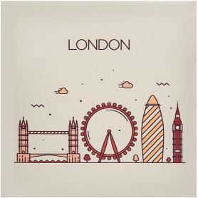 Картина на холсте «Лондон» 30x30 см