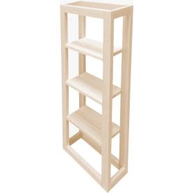 Полка деревянная «Кедр» 91x14x35 см
