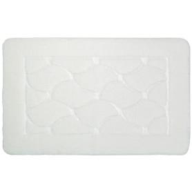 Коврик для ванной комнаты Link 50x80 см цвет белый