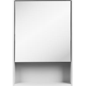 Шкаф зеркальный подвесной «Сведен» 60x80 см цвет белый