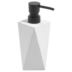Дозатор для жидкого мыла Isbirni полирезина цвет белый