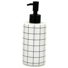 Дозатор для жидкого мыла La Scuola цвет белый/чёрный
