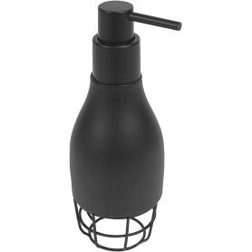 Дозатор для жидкого мыла Wyron полирезина цвет чёрный