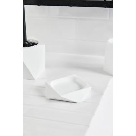 Мыльница Isbirni полирезина цвет белый