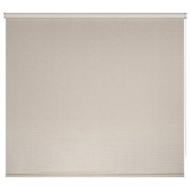 Штора рулонная Dublin блэкаут 140x175 см, цвет бежевый