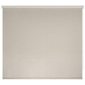 Штора рулонная Dublin блэкаут 200x175 см, цвет бежевый